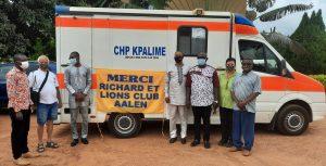 Lions Club Aalen spendet Krankenwagen für Togo im Wert von 40.000 Euro